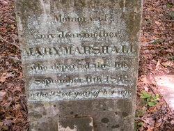 Mary <i>Steen</i> Marshall