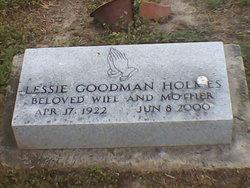 Lessie <i>Goodman</i> Holmes