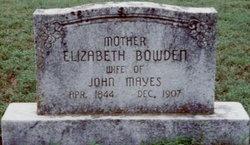 Elizabeth Bowden Mayes