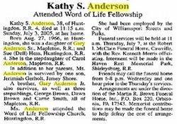 Kathy Sue Katie Anderson