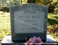 Meggie <i>Miles</i> Daye