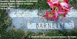 Hallie <i>Hightower</i> Barnette