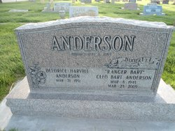 Bart Cleo Anderson