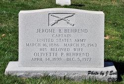 Jerome Bernard Behrend
