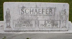 Frederick LEROY Schaefer