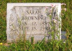 Sarah <i>Huff</i> Browning