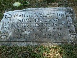 James Ernest Buzz Slatton