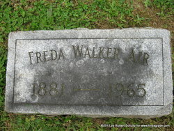 Fredricka Barbara Freda <i>Walker</i> Air
