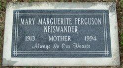 Mary Marguerite <i>Thomas</i> Nieswander