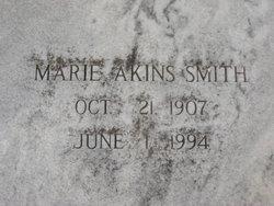 Marie <i>Akins</i> Smith