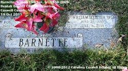 William Fletcher Barnette, Sr