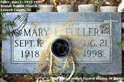Mary Lois <i>Graves</i> Fuller