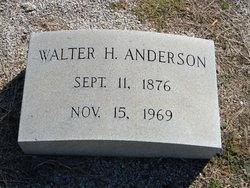 Walter H Anderson