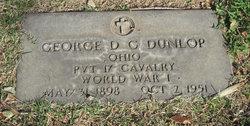 Pvt George D C Dunlop