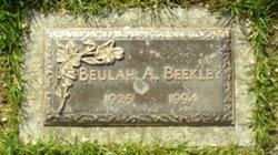 Beulah A Beekley