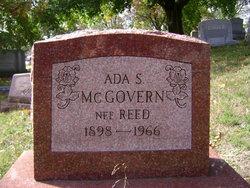 Ada S. <i>Reed</i> McGovern