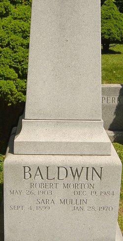 Sara <i>Mullin</i> Baldwin
