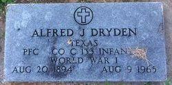 Alfred J Dryden
