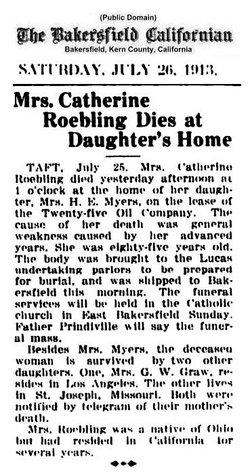 Catherine Roebling