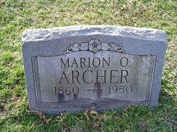 Marion Oliver Archer