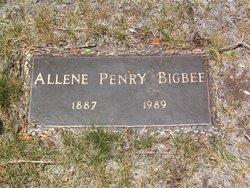 Allene <i>Penry</i> Bigbee