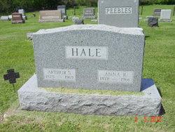 Anna R <i>Hutchens</i> Hale