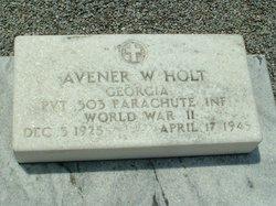 Pvt Avener W. Holt