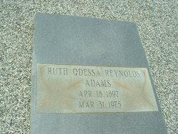 Ruth Odessa <i>Reynolds</i> Adams