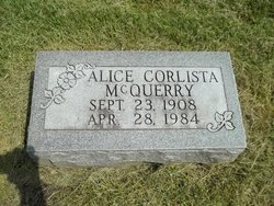 Alice Corista <i>McCloud</i> McQuerry