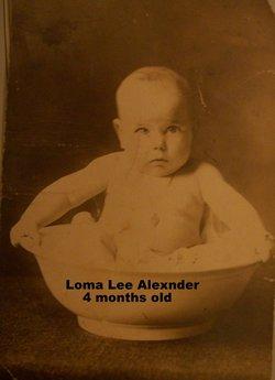 Loma Lee Alexander