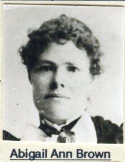 Abigail Ann <i>Brown</i> Killpack