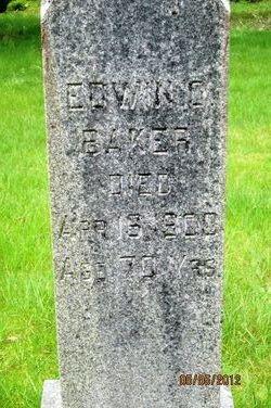 Dr Edwin Orrin Baker
