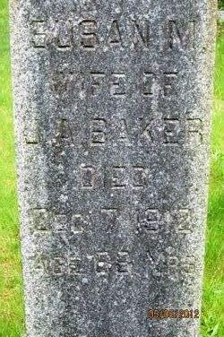 Susan M. <i>Vaux</i> Baker