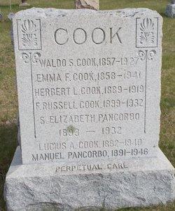 Emma Frances <i>Jenckes</i> Cook