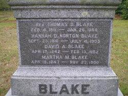 Hannah D. <i>Norton</i> Blake