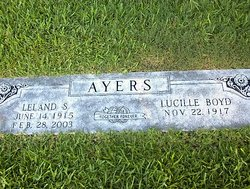 Blanche Lucille <i>Boyd</i> Ayers