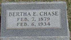 Bertha E Michals Stoner Chase