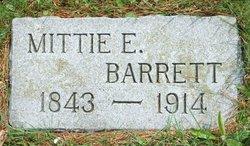 Arminta Elizabeth Mittie <i>Lewis</i> Barrett