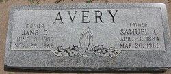 Samuel C Avery