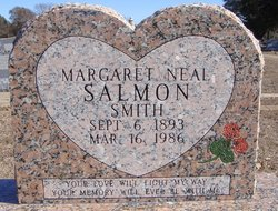 Margaret Neal <i>Smith</i> Salmon
