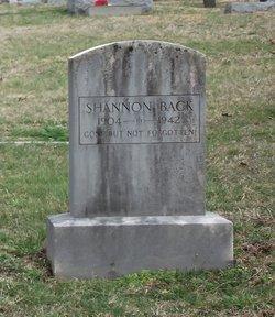 Shannon Back