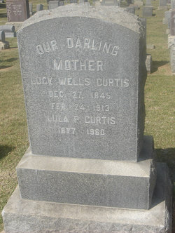 Lucy <i>Wells</i> Curtis