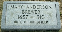 Mary <i>Anderson</i> Brewer