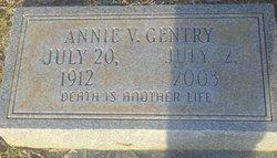 Annie V Gentry