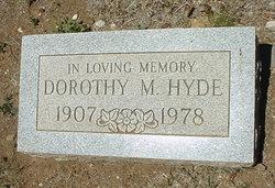 Dorothy Mae <i>Nichols</i> Hyde