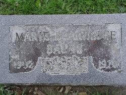 Marie <i>Beardslee</i> Baurs