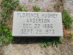 Florence <i>Hughey</i> Anderson