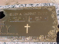 Ellen Addalene ADDIE <i>Zugg</i> Petty