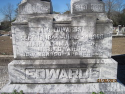 Mary Emma <i>Bussey</i> Edwards