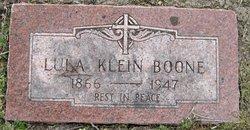 Lula <i>Klein</i> Boone